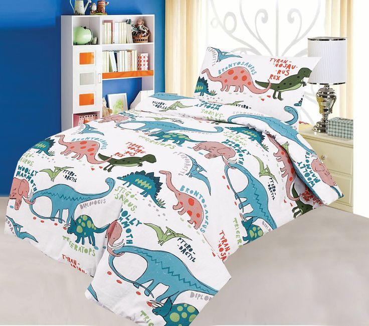COT BED DUVET COVER WITH PILLOWCASE- SUPERIOR NATURAL COTTON RICH 120 X 150 CM
