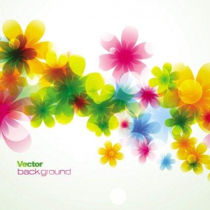 spring_flowers_background_dream_01_vector_157506.jpg (425×425)