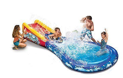 Banzai Wave Crasher Surf Slide Inflatable Body Board  #Banzai