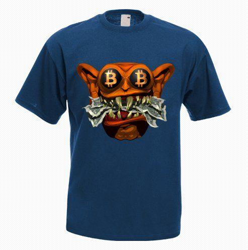 Feed Me Fiat Bitcoin T-Shirt - http://goo.gl/r4t1Ck