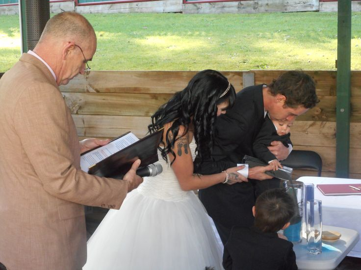 A Sand Ceremony for all the family