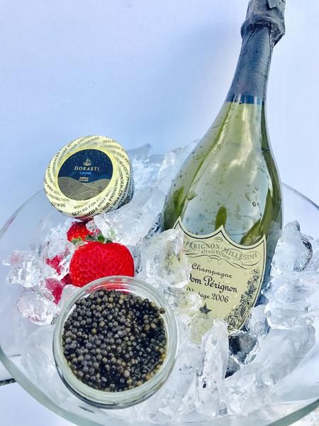 Best Champagne & Caviar Gift Set