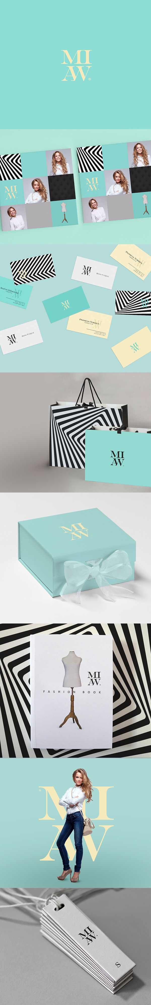 MIAW BOUTIQUE by Miguel Basurto, via Behance