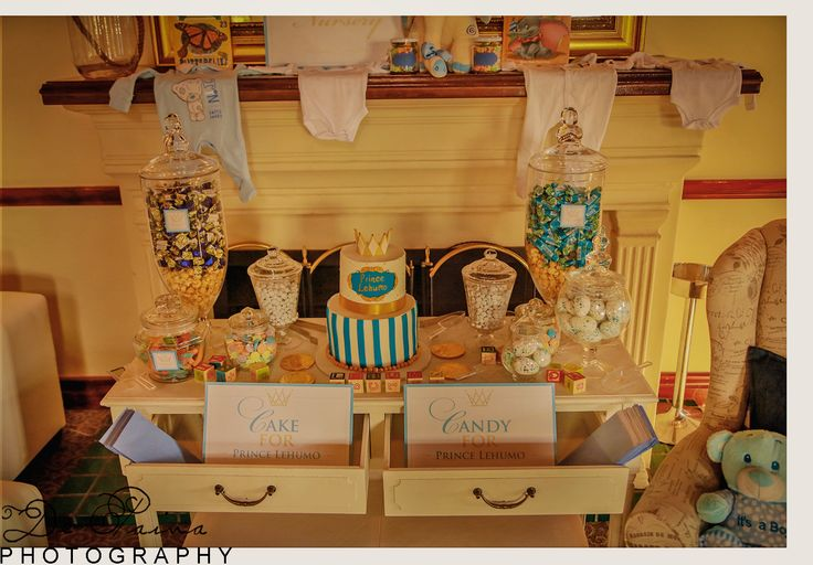 Royal candy buffet...