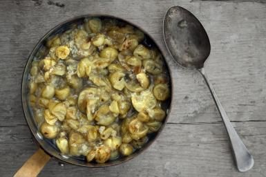 Don't Be Fooled by This Simple Gooseberry Compote: Gooseberry Compote