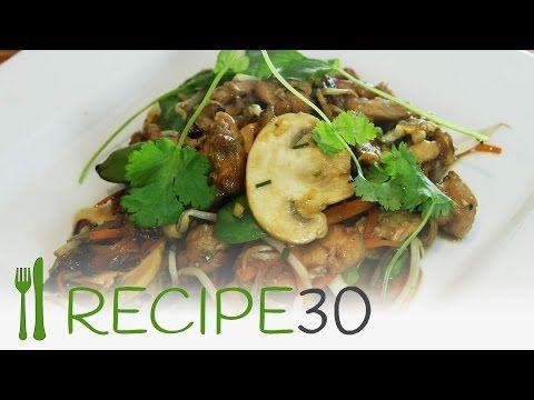 Thai chicken stirfry
