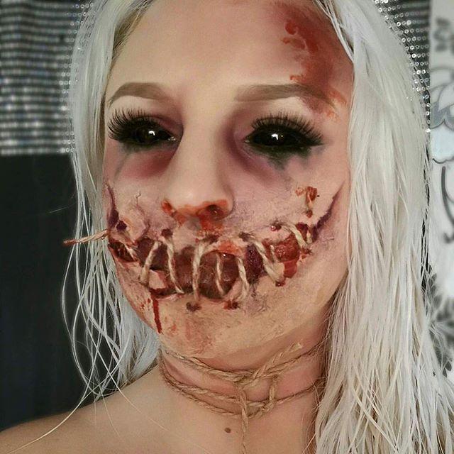 Halloween makeup by @gennabaker94 how amazing is this whose excited  #halloween #halloweenlooks #creepy #makeup #mua #makeupartist #blood #gory #halloweenideas #inspiration #inspo #halloweeninspo #cosmetics #products #cool #makeupaddict #ideas #diy #amazing #wakeupandmakeup #undiscovered_muas #detail #wow #universalhairandmakeup #makeupartistsworldwide #hudabeauty #selfie #morphebrushes #makeupinspo @universalhairandmakeup @undiscovered_muas @makeupartists_worldwide @makegirlz @wakeupa...