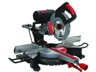 """www.sawblade.com""... Trajan DM 250 Versa-cut 10"" VerCarbide Steel Cutting Chop Saws for carbide Circular Blades (wood, aluminum, steel with proper blade"