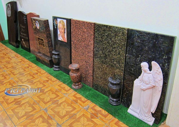 Самые ходовые цвета гранита, используемые гранитной мастерской Русгранит.