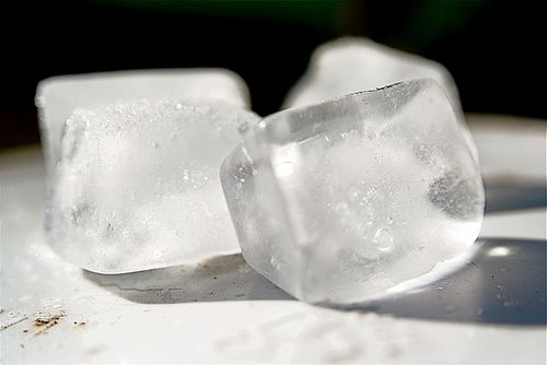 Natural cough remedies/ ice chips:)