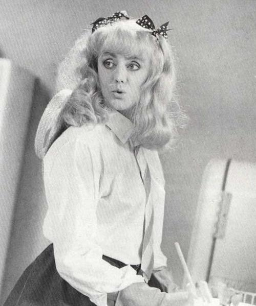 Roger Taylor made the prettiest woman in the I want to break free video.