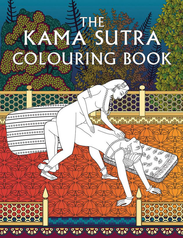This Kama Sutra Colouring Book Is The Most Fun You'll Have With Your Clothes On (NSFW) | Huffington Post