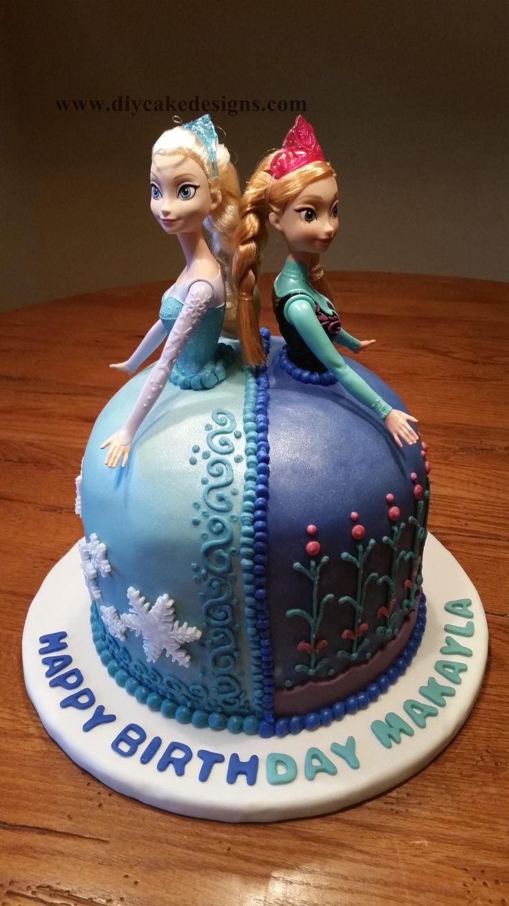 58 Best Frozen Cake Images On Pinterest