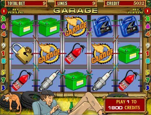 Игровой автомат Garage в казино Вулкан Гаражная тематика является основной в одноименном игровом автомате Garage от разработчика Igrosoft. Игроки казино Вулкан а также любители автомобилей и связанных с ним инструментов обязательно оценят красочные изображения автома