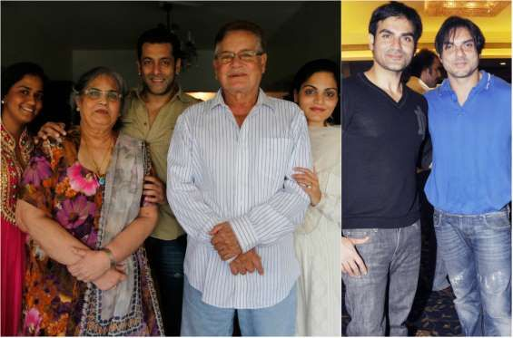 Salim Khan family - Getty Images