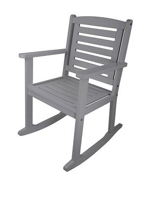 46% OFF Esschert Design USA Rocking Chair, Grey
