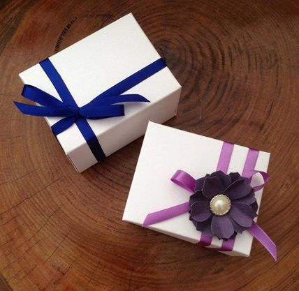 Gift boxes, custom designed #handmade