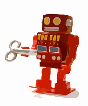 Roboter, Spielzeug Roboter
