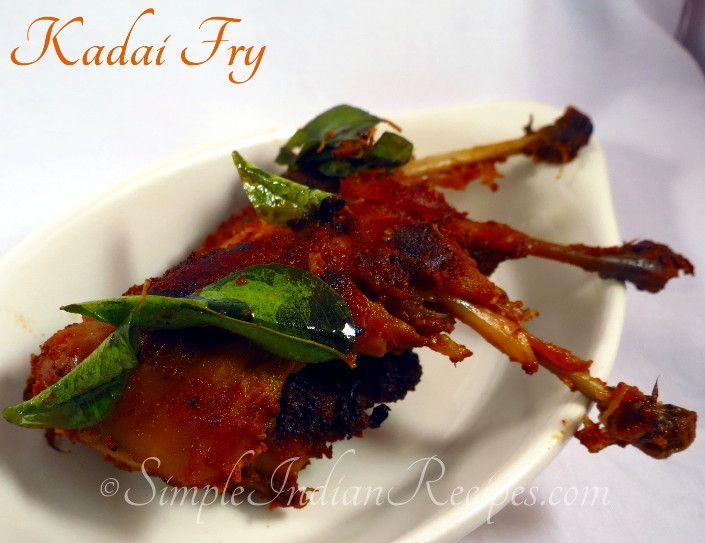 Kaadai 65 (Quail Fry):  Simple and tasty fry with quail, otherwise called as kadai. Try the recipe @ http://simpleindianrecipes.com/Kaadai65.aspx