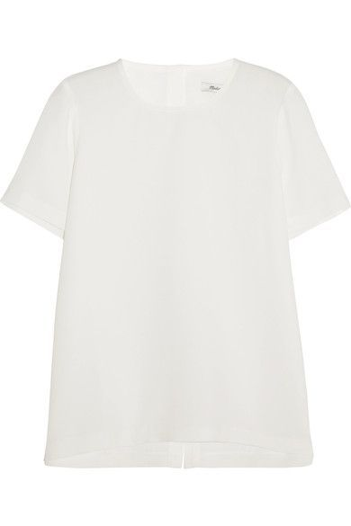 Madewell - Swingy Crepe Top - White - x small