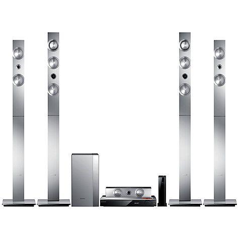 Buy Samsung HT-F9750W 7.1 3D Blu-ray/DVD 4K Upscaling Smart Home Cinema System Online at johnlewis.com