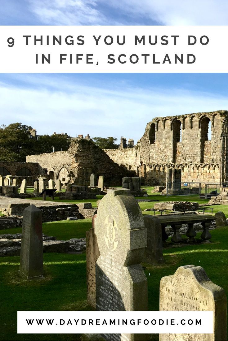 9 Things You Must Do In Fife, Scotland.  I recently visited Fife in Scotland and found many wonderful things to do! St Andrews was a personal favourite with excursions to Eden Mill, Eden Mansion and St Andrews Cathedral to name but a few!