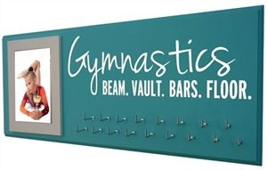 Gymnastics medals display Gymnastics - Hang your award ribbons in style! You deserve it! PERFECT GIFT! $39.99
