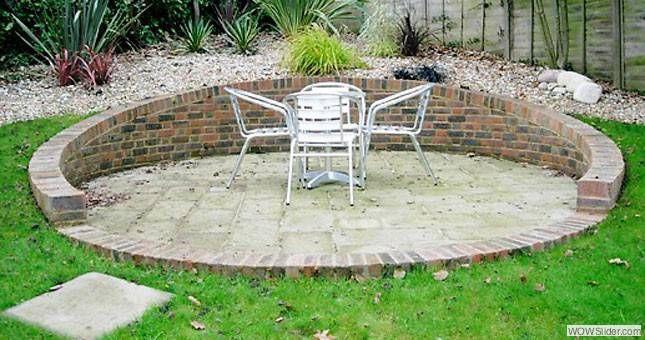 Curved Brick Garden Wall Hertford St Pinterest 400 x 300