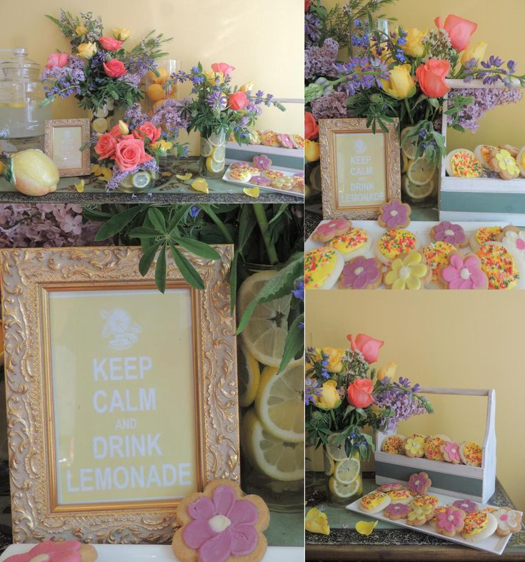 Keep Calm and Drink Lemonade Party | with free printable from easywayapartments.com