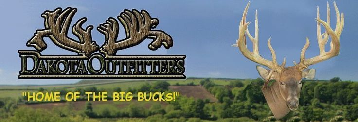 World Class Trophy Whitetail Deer Hunts with Dakota Outfitters.