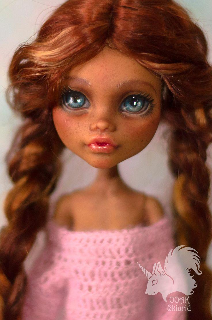 .: OOAK Monster High Doll & Craft :. Skiurid