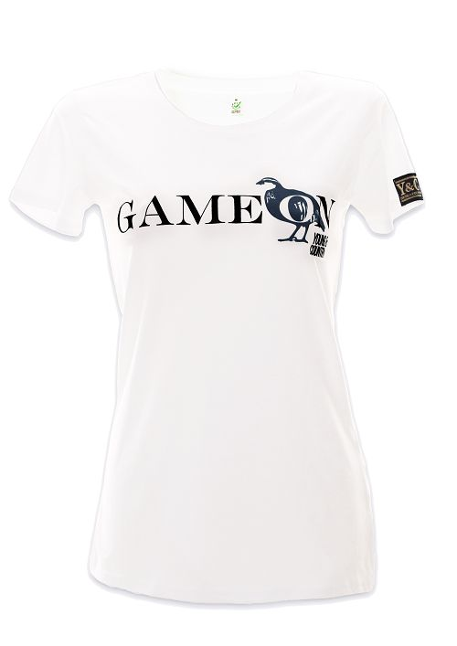 Game on!  Like a challenge? This T-shirt says it all...
