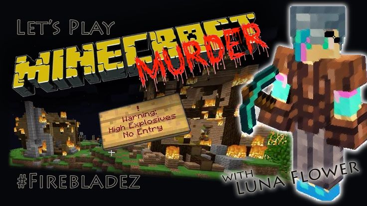 Let's Play Minecraft Minigames, Minecraft Murder