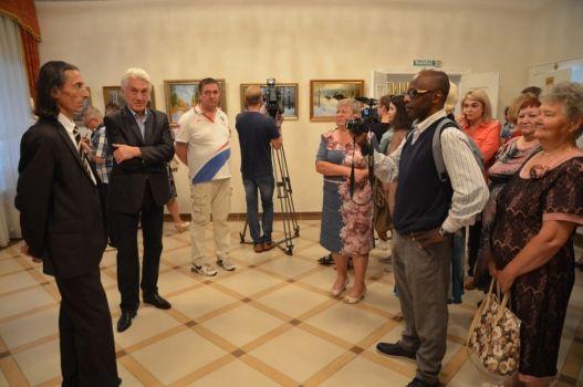 Персональная выставка Гахраманова Джалила Халил Оглы «ЯМАЛ – край земли» в Губернаторском доме