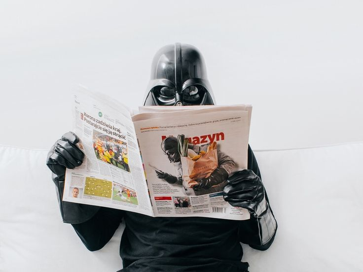 Newspaper by D. Vader on tookapic