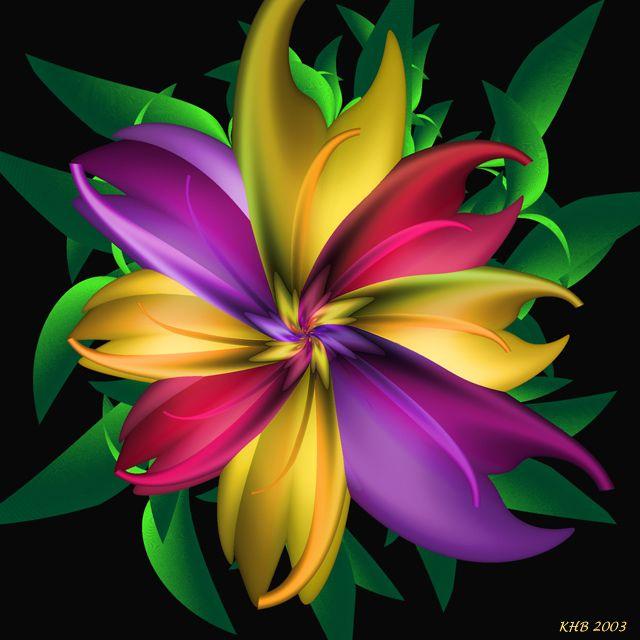Morning Glory - http://www.fractaldaydreams.com/uf/morning_glory.jpg repinned by…