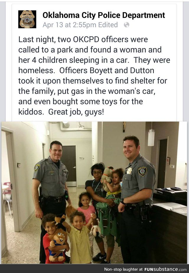 Let's start giving the good cops more recognition, shall we?