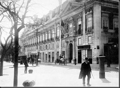 Central Cinema e Legação Americana, 1908
