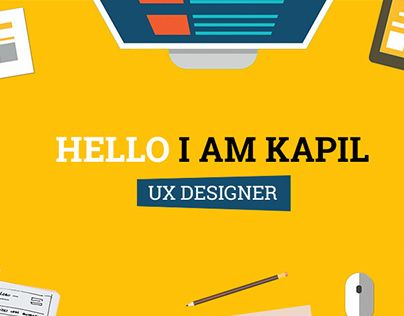 17 best UX UI Design images on Pinterest Behance, Dashboards and - online resume portfolio