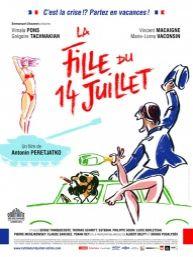 La Fille du 14 Juillet (2013) de Antonin Peretjatko, avec Vimala Pons, Vincent Macaigne, Grégoire TACHNAKIAN