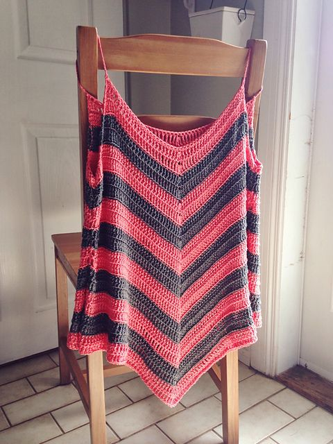 Ravelry: Project Gallery for Tropic Summer Top pattern by Sophie and Me-Ingunn…