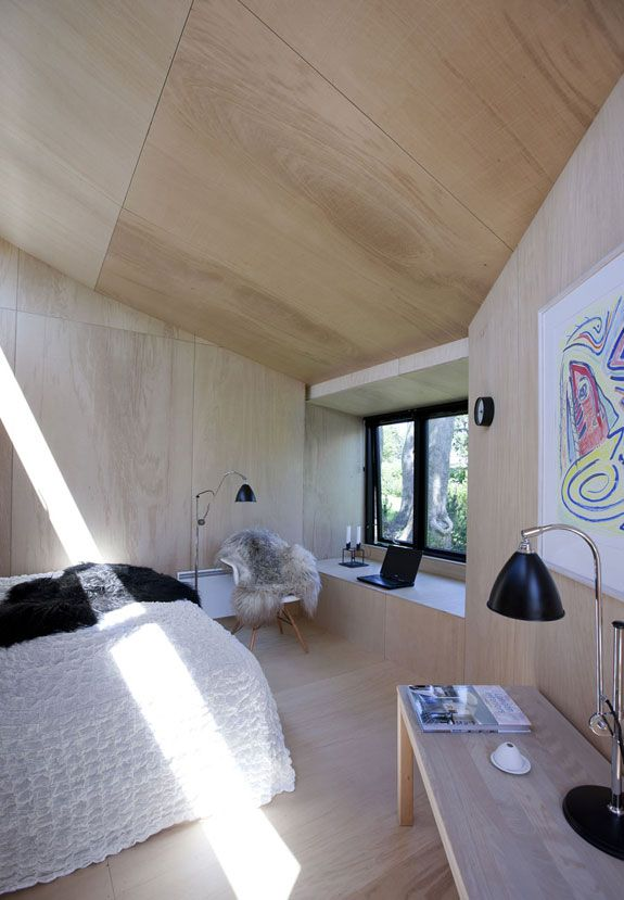 Plywood Walls Floors Ceilings Simple Beauty Cabin