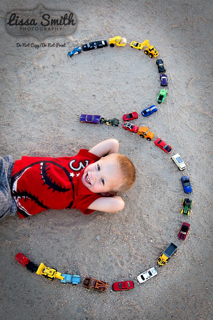 3 year old boy portraits, hot wheels cars, number 3, red shirt, Sahauro Ranch Park.