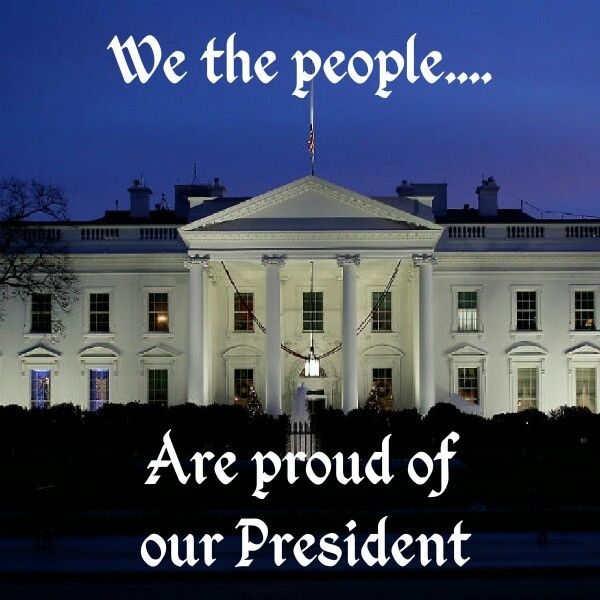 Finally, we have a President who represents the American people instead of the rest of the world.