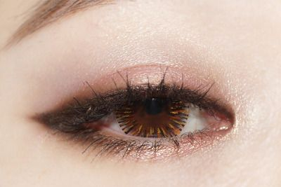 Makeup look I should try since her eyes are a lot like mine :D