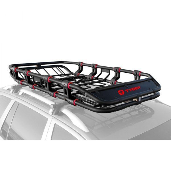 Tyger Tg Rk1b906b Super Duty Roof Cargo Basket 67 6 L X 41 4 W X 8 42 H In 2020 Jeep Cherokee Roof Rack Roof Rack Luggage Carrier