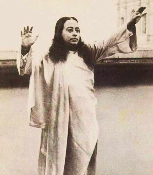 Yogananda Quotes: Premavatar Paramahansa Yogananda Offering Blessing