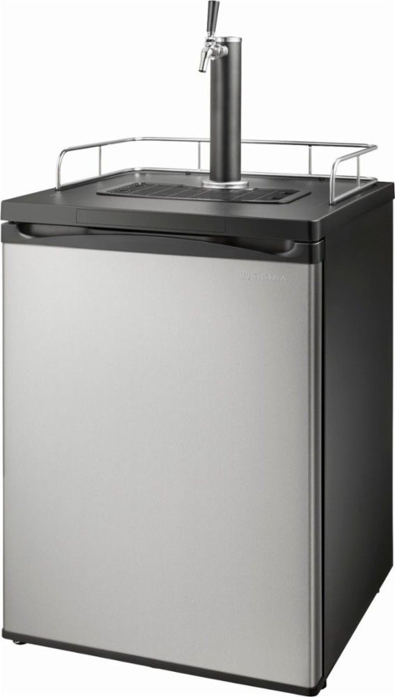 Insignia 5.6 Cu Ft Stainless Steel Kegerator Sale – $299.99, Save $150 #homebrew
