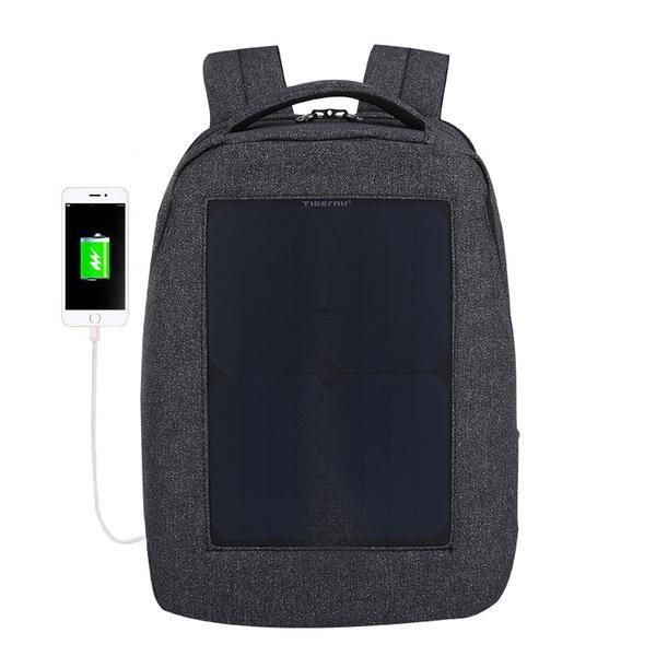Vulcan Solar Powered Backpack with USB Charger