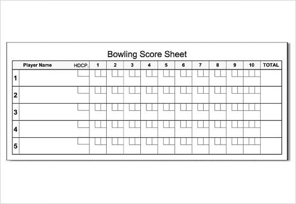 Related Image Bowling Words Sheet